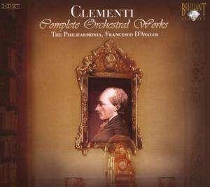 Muzio Clementi, Opere orchestrali, Brilliant Classics