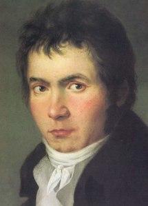 Beethoven nel 1804, ritratto di W.J.Mähler