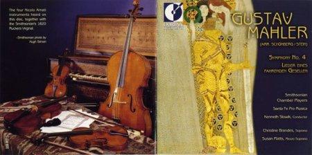 Mahler 4 para cuerdas Santa fE